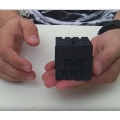 Screenshot_2.jpg Télécharger fichier STL gratuit MineCraft TNT • Objet à imprimer en 3D, ErkanErk