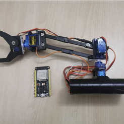 IMG.jpg Download free STL file ARM 4 servo control with wifi • Object to 3D print, ErkanErk