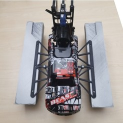 Download free STL file From RC CAR to Airboat modified, ErkanErk