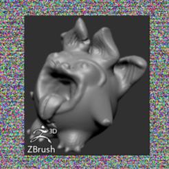 photolanguvol (2).png Download free OBJ file Imaginary creature (Languvol) • 3D printable template, Aurac0lt