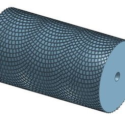 20200429_102433.jpg Download STL file Round Paving Stone Roller HO • 3D printing object, Anjou85