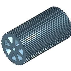 Pavés rectangulaires.jpg Download STL file Rectangular paver roller HO • Design to 3D print, Anjou85