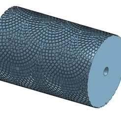 20200429_102432.jpg Download STL file Roller Peacock Tail Paving Stone HO • 3D printing object, Anjou85