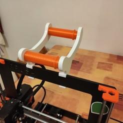 IMG_20201028_205502.jpg Download free STL file Prusa reel holder • Design to 3D print, uhlrich