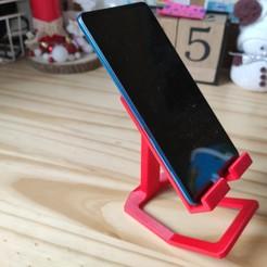IMG_20200702_175006.jpg Télécharger fichier STL Support téléphone • Objet à imprimer en 3D, uhlrich
