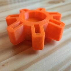 IMG_20210105_095136.jpg Télécharger fichier STL gratuit Support clé USB rotatif • Plan à imprimer en 3D, uhlrich