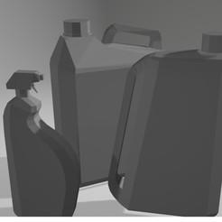 bottles.jpg Download free STL file paddock bottles • 3D printable model, peterstevpt