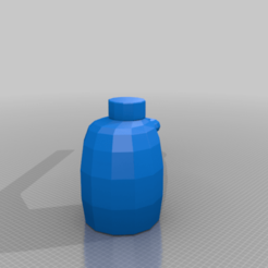 Download free 3D printer designs Windshield washer tank, rcklub