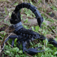 Download 3D printing designs Articulated Scorpion, RuiWorks