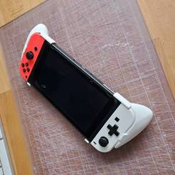 Download 3D printing files Nintendo Switch - Ergonomic Grips, sybrb2k3