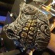 Download 3D printing files Biomechanical Half mask, consciusveritas