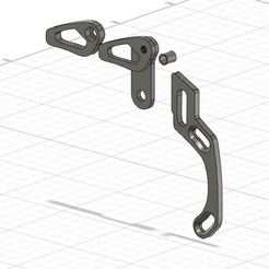 ANTIDERAILLEUR CAPTURE.JPG Download STL file CHAIN GUIDE FOR MTB • 3D print object, nolanneuser