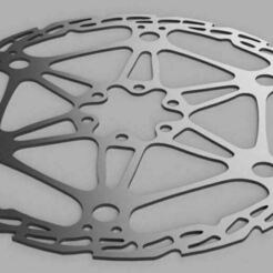 image disque v1.JPG Download STL file brake disc 203mm diameter • 3D printing model, nolanneuser