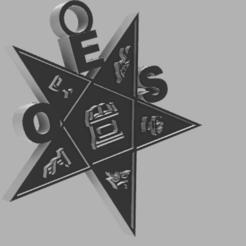 Eastern Star v11.png Télécharger fichier STL Ordre de l'emblème de l'étoile de l'Est • Modèle imprimable en 3D, thomashfoster