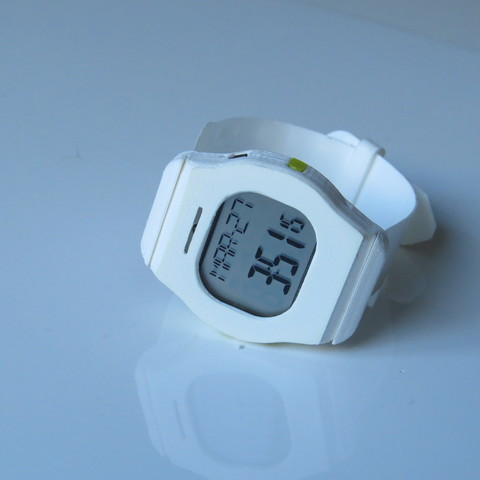Free Heart Rate Watch STL file, project3dprint