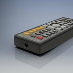 Remote_Control.PNG Télécharger fichier STL gratuit Télécommande • Objet pour impression 3D, iPaintSmallThings