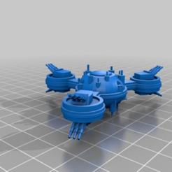 04262c1542405a87e6ce5895ed8286ab.png Télécharger fichier STL gratuit Plate-forme de défense BFG • Design pour imprimante 3D, Rabe_KhUA