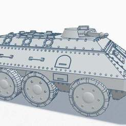 n1iumW9Px-k.jpg Download free STL file 28mm 6x6 APC v1 Chimera like (complete) • Object to 3D print, Rabe_KhUA