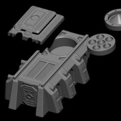 silo 4.jpg Download STL file Wargames Missile Silo • 3D print model, Baron_von_Beef