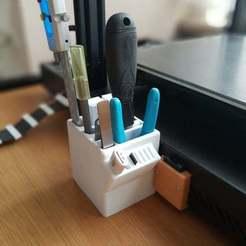 IMG_20200704_092502296_PORTRAIT.jpg Télécharger fichier STL gratuit CR 10S Pro Porte-outils • Modèle pour imprimante 3D, JerryBe