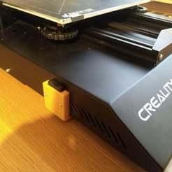 Descargar STL gratis Soporte para cable de extensión SD para actualizar el firmware de la pantalla LCD CR 10S Pro, JerryBe