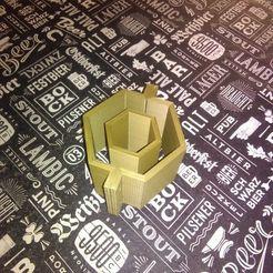 Télécharger fichier STL Moule hexagonal. • Design à imprimer en 3D, ddm_aem