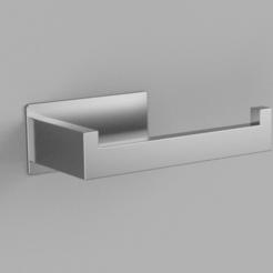 Design asdf v1.png Télécharger fichier STL gratuit Porte-papier hygiénique design • Modèle pour imprimante 3D, Budget3DPrinting