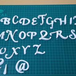 118275552_111060424051295_3847420875693091600_o.jpg Download STL file sharp-edged alphabet • 3D printing object, JOA3D