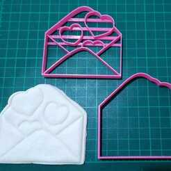 WhatsApp Image 2021-01-18 at 18.20.26 (3).jpeg Download STL file lovers letter / valentine's day cut / cookie stamp / cookie • 3D printer template, JOA3D