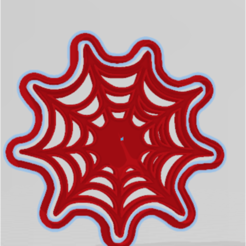 TELA DE ARAÑA.png Download STL file TELA DE ARAÑA CORTANTE, ESTAMPA GALLETITA • 3D printer design, JOA3D
