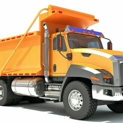 camion.jpg Download STL file truck • 3D printable template, javi1610