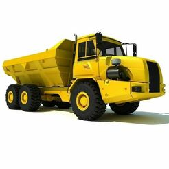 truck.jpg Télécharger fichier STL camion de construction • Plan à imprimer en 3D, javi1610