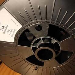 Photo_3.jpg Télécharger fichier STL gratuit Adaptateur de bobine - filament ICE - Ender 3 • Objet à imprimer en 3D, louisnairaud