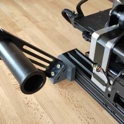 Photo_1.jpg Télécharger fichier STL gratuit Porte-bobine latéral - Ender 3 • Modèle pour impression 3D, louisnairaud