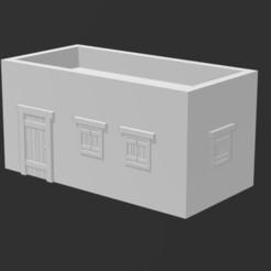ME Building 2 Front.JPG Télécharger fichier STL gratuit Désert/Moyen-Orient Bâtiment 2 • Objet pour imprimante 3D, Ronnie3D