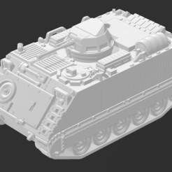 AUS M113 - 1.JPG Télécharger fichier STL gratuit M113AS1 APC (version de l'armée australienne) • Plan imprimable en 3D, Ronnie3D