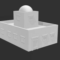 ME Building 1 Front.JPG Télécharger fichier STL Désert/Moyen-Orient Bâtiment 1 • Objet pour impression 3D, Ronnie3D