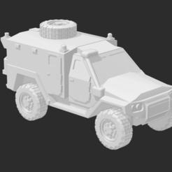 MRAV 4X4 - AMBULANCE 1.PNG Télécharger fichier STL Ambulance MRAP/MRAV • Objet pour imprimante 3D, Ronnie3D