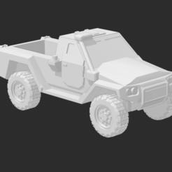 MRAV 4X4 MEDIUM TRUCK 1.PNG Télécharger fichier STL MRAP/MRAV Camion moyen à 2 portes • Design imprimable en 3D, Ronnie3D