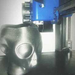 Alien con cuello.jpeg Télécharger fichier OBJ Planteur étranger • Plan imprimable en 3D, dxvid