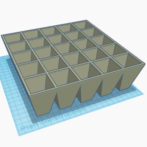 Télécharger fichier STL gratuit Plaque pour semis • Objet à imprimer en 3D, olivierrrr