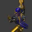 Download free OBJ file Star Pharaoh Athanatos Lancer Victory Bird • 3D printing model, Overpimp_Shabakalaka