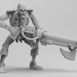 Fightier Men Pose 1.JPG Download free STL file Space Zombies FIGTHIER Men! • 3D printing template, Overpimp_Shabakalaka