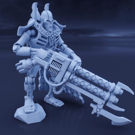Download STL file Space Zombies Regal Jailer • 3D printing design, Overpimp_Shabakalaka