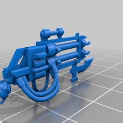 bfa609ae90ce6c5ad4777da5477f4625.png Download free STL file Space Zombies Big Particle Sprayer • 3D print design, Overpimp_Shabakalaka