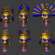 Download STL file Star Pharaohs - Athanatos Lancers • 3D printable design, Overpimp_Shabakalaka