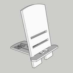 Download free 3D print files Adjustable Phone/Tablet Stand, SliceCubes