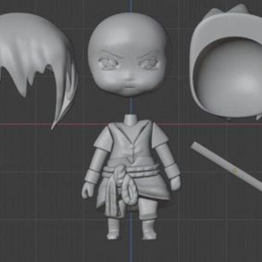 piezas.jpg Télécharger fichier STL sasuke • Objet pour impression 3D, rodulfoipn