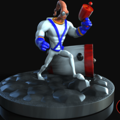 Download STL EARTHWORM JIM, N34RD347H