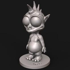 "Descargar modelo 3D ""Baphy"", N34RD347H"